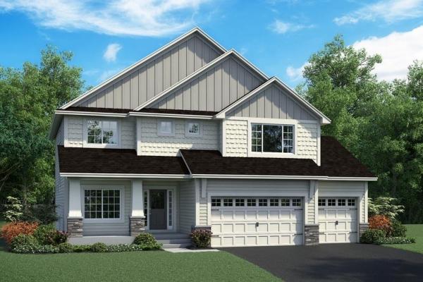OneTenTen Homes Maverick – Exterior Rendering
