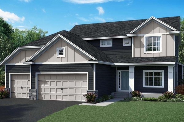 OneTenTen Homes Payton Exterior Rendering