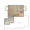 OneTenTen Homes Kennedy Loft Lower Level Rendering